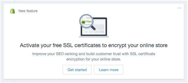 Blog - Activate SSL for your Shopify Store | atmosol